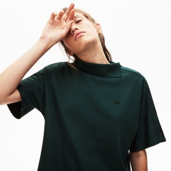 『LACOSTE L!VE』変形ポロ