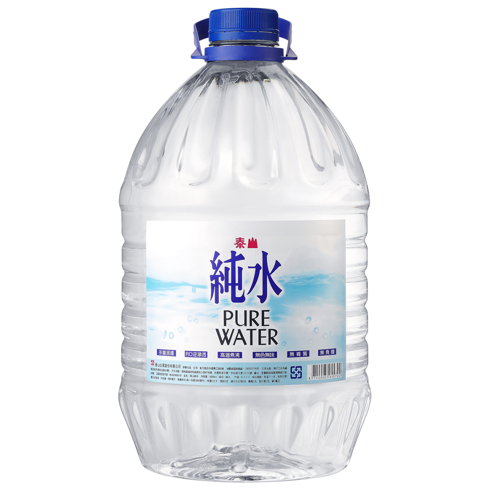【安心價】泰山純水5L