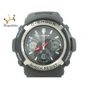 カシオ CASIO 腕時計 美品 G-SHOCK AWG-M100 メンズ 黒    値下げ 20190928