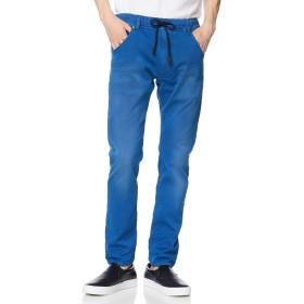 (ディーゼル) DIESEL メンズ デニム パンツ ジョグジーンズ レギュラースリムキャロット 00CYKI0670M 36inch ネイビー×ピンク 8EX