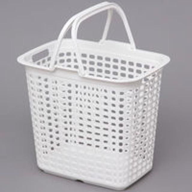 アイリスオーヤマ ランドリーバスケット ピュアホワイト LB-L(直送品)