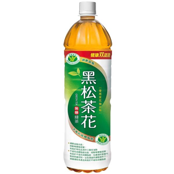 黑松茶花綠茶 1230ml