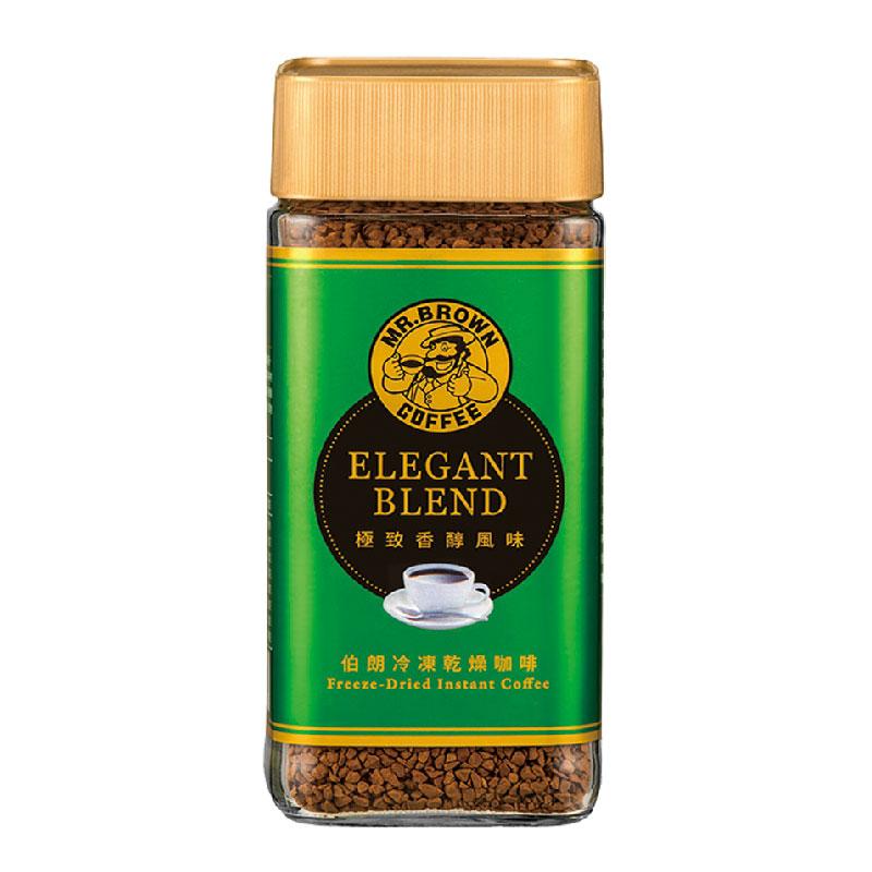 【安心價】伯朗冷凍乾燥即溶咖啡-極致香醇 100g