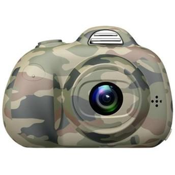 テラキッズトイカメラMAXEVIS グリーンKI-CA-AM-03