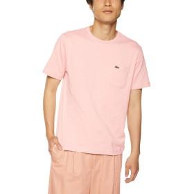 [ラコステ] Tシャツ(半袖) メンズ TH633EM ピンク EU 005 (日本サイズXL相当)