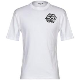 《期間限定セール開催中!》McQ Alexander McQueen メンズ T シャツ ホワイト XS コットン 100%
