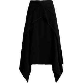 《期間限定 セール開催中》PROENZA SCHOULER レディース ひざ丈スカート ブラック 4 アセテート 66% / レーヨン 34%