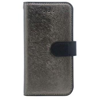 iPhone SE ケース HANSMARE CALF Diary (ハンスマレ カーフダイアリー) アイフォンse/5s/5用 iPhone SE/5s/5(metal black)