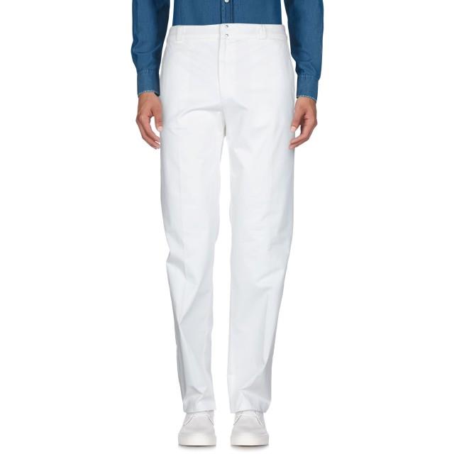 《期間限定セール開催中!》PATRIZIA PEPE メンズ パンツ ホワイト 46 コットン 100%