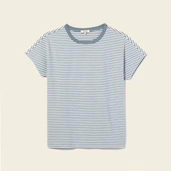 AIGLE レディース NAIL BULE (074) Tシャツ