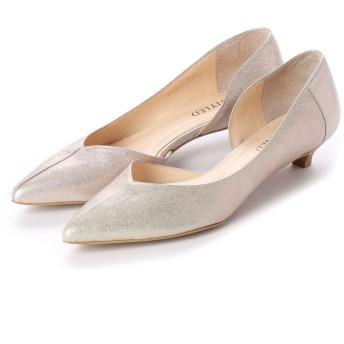 アンタイトル シューズ UNTITLED shoes パンプス (ホワイトゴールド)