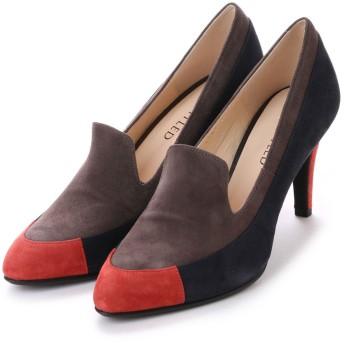 アンタイトル シューズ UNTITLED shoes パンプス UT6188 (グレースエードコンビ)