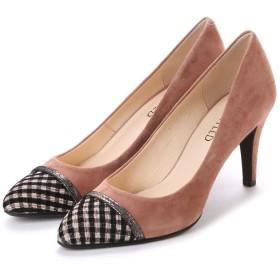 アンタイトル シューズ UNTITLED shoes パンプス UT6187 (ピンクベージュスエード)