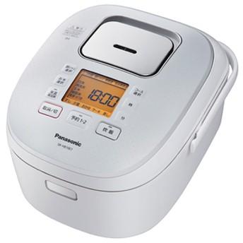 パナソニック圧力IH炊飯ジャー(5.5合炊き)KuaLホワイトSR-HB10E7-W