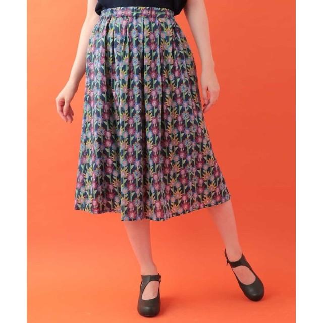 Jocomomola ホコモモラ びっくりフラワープリントスカート
