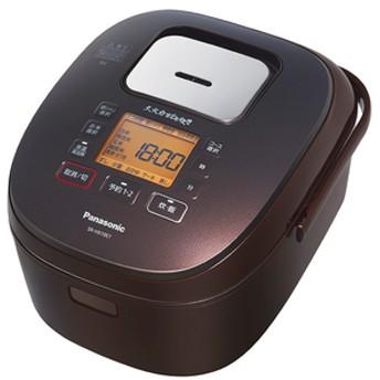 パナソニック圧力IH炊飯ジャー(5.5合炊き)KuaLブラウンSR-HX10E7-T