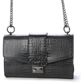 ゲス GUESS CLEO CONVERTIBLE CROSSBODY FLAP (GRAPHITE)