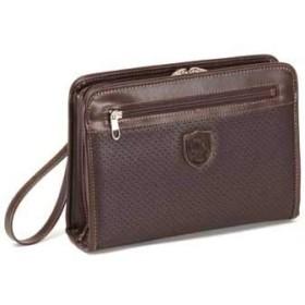 セカンドバッグ メンズ 日本製 豊岡製鞄 クラッチバッグ チョコ