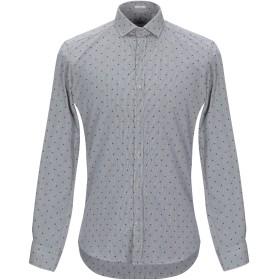 《セール開催中》HIMON'S メンズ シャツ ブラック 39 コットン 100%