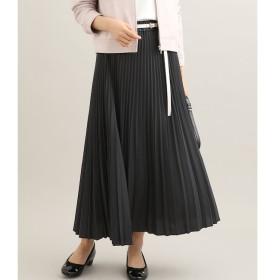 【ビス/ViS】 サテン変形プリーツスカート