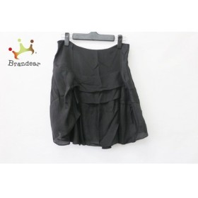 クロエ Chloe ミニスカート サイズT36 レディース 黒 変形デザイン/シルク  値下げ 20191006
