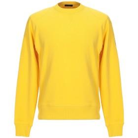 《期間限定 セール開催中》BELSTAFF メンズ スウェットシャツ イエロー S コットン 100%