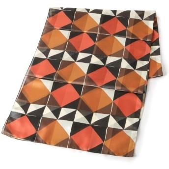 esche(エッシュ) 幾何柄レトロプリントスカーフ