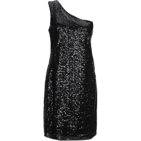 《期間限定セール開催中!》TWENTY EASY by KAOS レディース ミニワンピース&ドレス ブラック 44 ポリエステル 100%