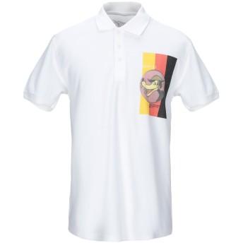 《期間限定セール開催中!》BASTILLE メンズ ポロシャツ ホワイト L コットン 100%