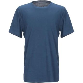 《セール開催中》JOHN VARVATOS メンズ T シャツ ブルー S コットン 100%