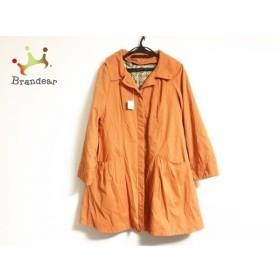 ホコモモラ JOCOMOMOLA コート サイズ40 XL レディース オレンジ 冬物 新着 20190731