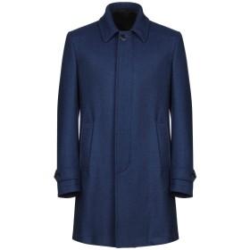 《9/20まで! 限定セール開催中》LUIGI BIANCHI Mantova メンズ コート ブルー 50 ウール 100%