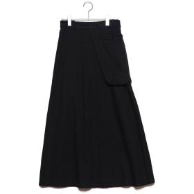 スタイルブロック STYLEBLOCK カツラギポケットスカート (ブラック)
