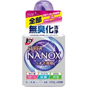 トップ スーパーナノックス ニオイ専用 洗濯洗剤 液体 本体 (400g)