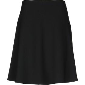 《期間限定 セール開催中》CAPPELLINI by PESERICO レディース ひざ丈スカート ブラック 46 ポリエステル 64% / レーヨン 27% / コットン 6% / ポリウレタン 3%