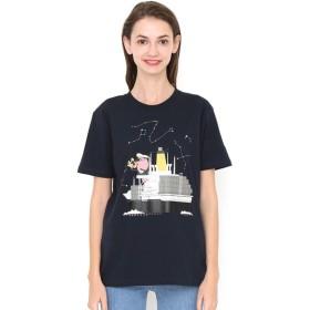 [マルイ] 【ユニセックス】コラボレーションTシャツ/貨物船(柳原良平)/グラニフ(graniph)