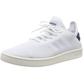 [アディダス] スニーカー コート アダプト [Court Adapt Shoes](DBH40) フットウェアホワイト/フットウェアホワイト/ダークブルー(F36416) 28 cm