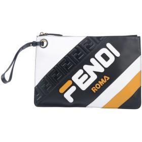 《期間限定 セール開催中》FENDI メンズ ハンドバッグ ブラック 牛革(カーフ)