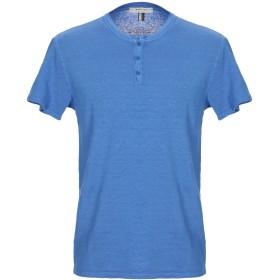 《9/20まで! 限定セール開催中》WOOL & CO メンズ T シャツ ブライトブルー L 麻 97% / ポリウレタン 3%
