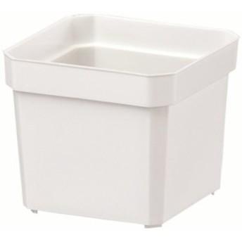 大和プラスチック 鉢・ポットプラントポット 角2号 60×60×H52 ホワイト