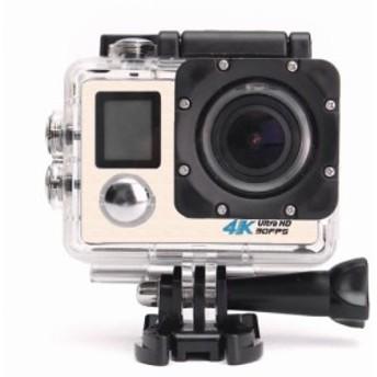 アクションカメラ スポーツ カメラ 4K WIFI搭載 液晶ディスプレイ HD 110度広角レンズ 30m 防水 極限運動記録 1200万画素 2.0インチ リモ