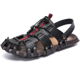 [Arrowzs] メンズ サンダル スポーツサンダル アウトドアサンダル 通気 耐久 涼しい 歩きやすい 水陸両用 防滑 防臭 吸汗 速乾