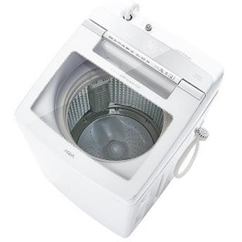 アクア AQUA インバーター全自動洗濯機10kg AQW-GV100H(W) ホワイト