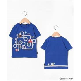 kladskap カーズ道路半袖Tシャツ(ブルー)