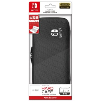 HARD CASE for Nintendo Switch Lite チャコールグレー HHC-001-4