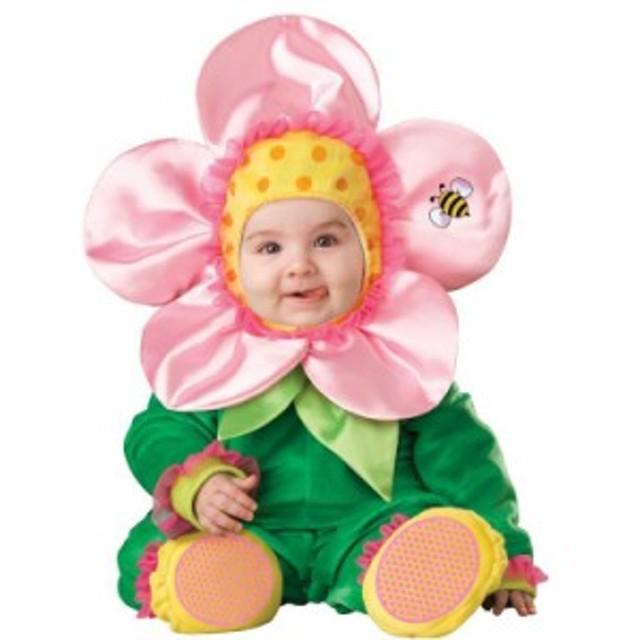 ベビー服 ベビーコスプレ フラワー 花 着ぐるみ 赤ちゃん服 80-90 ハロウィーン クリスマス パーティー衣装子ども用