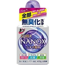 ライオン トップスーパーNANOXニオイ専用本体400g ナノツクスニオイホンタイ(400