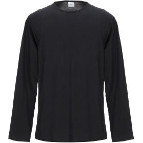 《期間限定セール開催中!》SECOND / LAYER メンズ T シャツ ブラック M コットン 100%