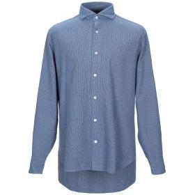 《セール開催中》DANOLIS メンズ シャツ ブルー 43 コットン 100%