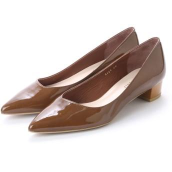 アンタイトル シューズ UNTITLED shoes パンプスUT4304 (キャメルエナメル)